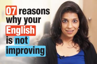 07 reasons – Why your English speaking isn't improving – Spoken English tips