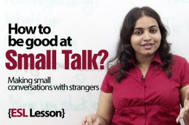 How to make a small talk? English Lesson ( ESL)